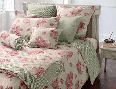 Laura Ashley Bettwäsche Coutarge Rose Fb1 135x 200 Cm Mit Rv 100 Baumwolle
