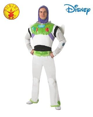Adult Superhero Toy Story Space Buzz Lightyear Licensed Costume