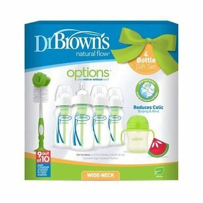 Dr Browns 4 Bottle Gift Set - Blue - Warehouse Clearance