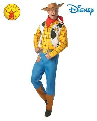 Adult Western Cowboy Toy Story Woody Licensed Deluxe Costume and Hat