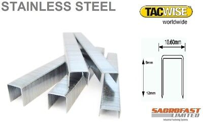140 Type Stainless Steel Staples By Tacwise X 2 Boxes
