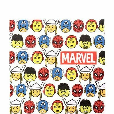 Mighty Marvel Avengers Pop Comic Napkins 2ply paper Party Tableware Birthday
