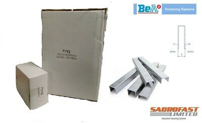 71 TYPE STAPLES 12MM - 1x CARTON BY BeA