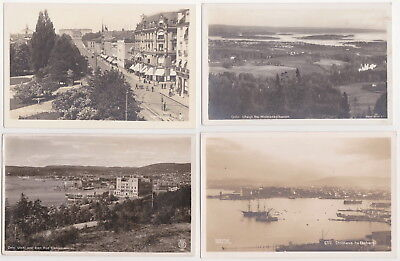 Norge - Oslo (6 Postcards) 1920-1935
