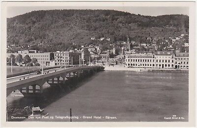 Norge - Drammen - with stamp 1944