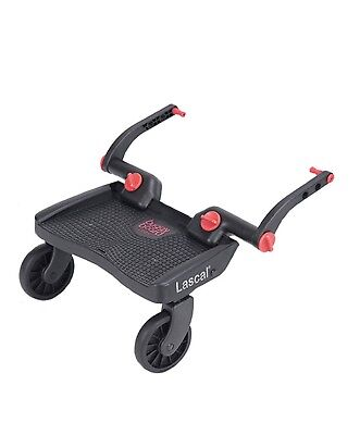 Lascals Child's Toddler's Mini Pushchair Buggy Board - Red - Warehouse Clearance