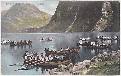 Norge - Ethnography (boats) 1914