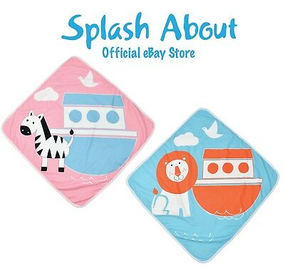 Splash About Baby & Toddler After Swim Hooded Towels Bath Towel