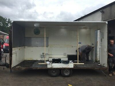 project catering trailer. Excellent fixer upper !!!!!!!!!!