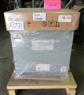 Hps Sg3A0030Bk 30Kva Dry Type Transformer 208D-480Y/277 3 Ph New