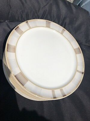 """DENBY TRUFFLE LAYERS Salad Or Side Plate 8"""".  Excellent Condition. Several Avail"""