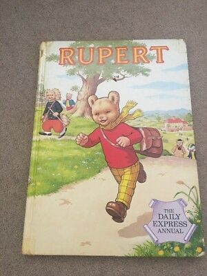 Rupert Daily Express Annual 1984 Collectible Story Book