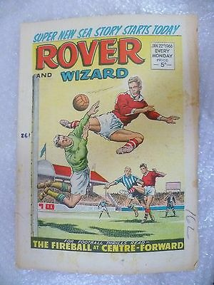 Comic- Rover and Wizard 22nd January 1966