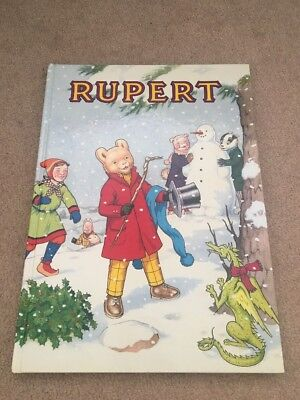 Rupert Daily Express Annual 1989 No. 54 Collectible Story Book