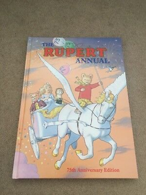 Rupert Daily Express Annual 1995 No. 60 Collectible Story Book 75th Anniversary