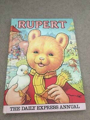 Rupert Daily Express Annual 1981 Collectible Story Book