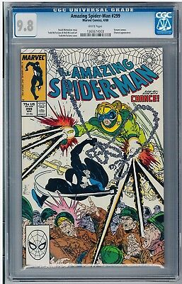 Amazing Spider-Man #299 CGC 9.8 1st Venom in costume. TODD MCFARLANE Art