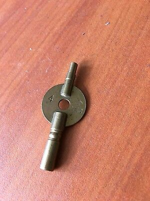 Double Ended Clock Key
