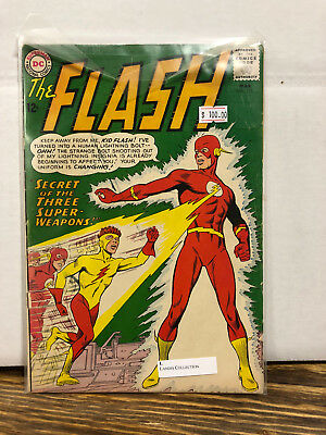 The Flash #135 Silver Age First Appearance of Kid Flash/Yellow Costume!