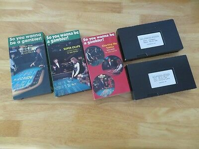 VSuper Craps, The Benson Method, Charting the Table VHS Tapes