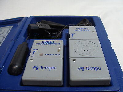 Tempo Model 508S The Wire Finder / Locating System Locator Transmitter Receiver