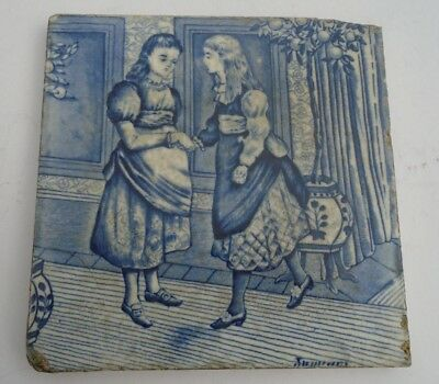 A Victorian Wedgwood & Sons Tile