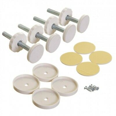 Stork Safety Gate Replacement Kit 4-Part Pack - White - New
