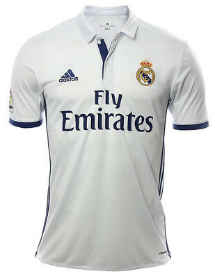 ADIDAS REAL MADRID JERSEY LOCAL 2016 - 2017 SHORT SLEEVE ORIGINAL S to XL  NWT 85dcbf6596c