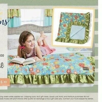 NWT Matilda Jane No Reservations Blanket Camp MJC New NIB Free Ship Floral Satin