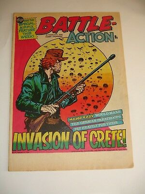 BATTLE ACTION comic 25th February 1978