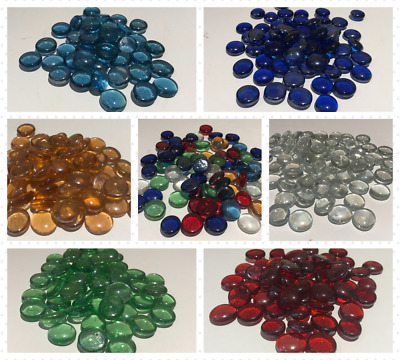 Glass Pebbles Stones Nuggets Beads Vase Home Decorations