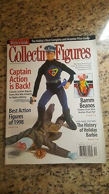 Whites Guide Collecting Figures Magazine december 1998 #48 captain action