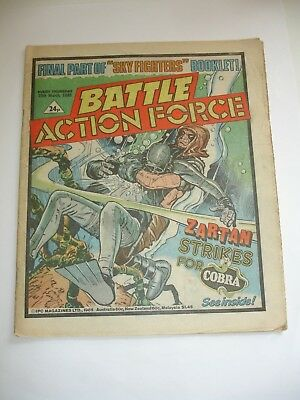 BATTLE ACTION FORCE comic 30th March 1985