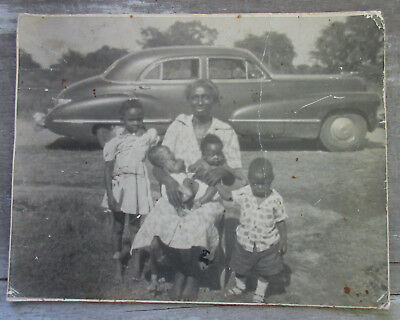 Vintage Photograph Black Americana Photo Antique African American Picture Old