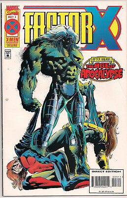 Factor X #3 (May 1995, Marvel) FN/VF Marvel Age of Apocalypse