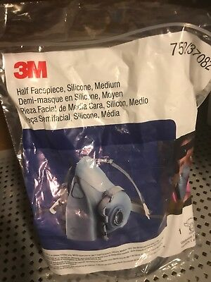 3M 7502/37082 Half Facepiece Respirator medium FREE SHIPPING spraying NEW