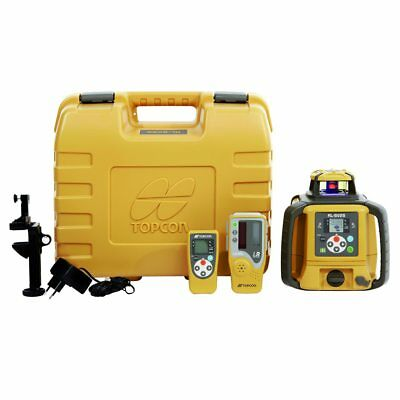 Topcon RL-SV2S Self-Leveling Dual Grade Laser DB Kit with LS-80L Receiver and Al