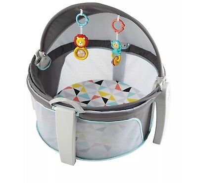 New Fisher-Price On-the-Go Baby Dome Windmill Play Shades Tents Gear Top Sale