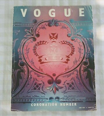 British Vogue, collectible edition Special Coronation Number, June 1953