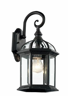 transglobe lighting 4181 bk wall 1 light outdoor black coach lantern