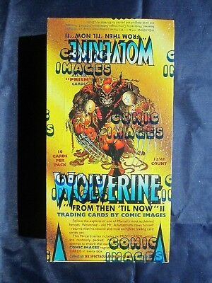 """Vintage Comic Image WOLVERINE """"From Then 'Til Now"""" II Trading Cards - Sealed"""