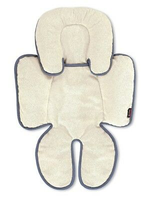 Britax Head and Body Support Pillow, Iron/Gray, Unisex, Reversible Design