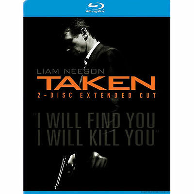 Taken [Two-Disc Extended Cut] ~ (Blu-ray) ~ New & Factory Sealed! Ships 24 hrs!