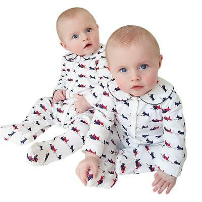 2017 Spring Autumn Newborn Baby Boys Girl One-piece Print Rompers Hooded Long Sl