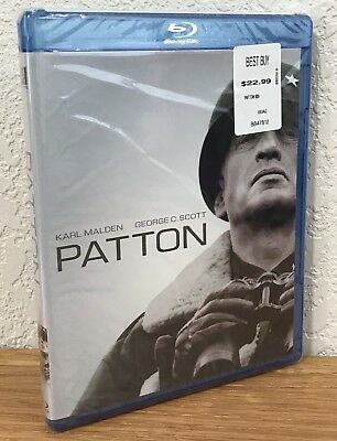PATTON (Blu-Ray, 2009) 2-DISC SET ~ REGION A ~ NEW & SEALED