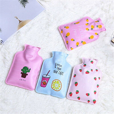Hot Water Bottle PVC Hand Warmer Hotwater Small Keep Warm Bag Cute Strawberry