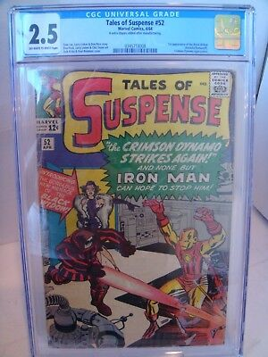Tales of Suspense #52 (1964) CGC 2.5 1st appearance of Black Widow JUST GRADED