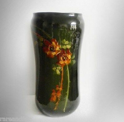 Weller Louwelsa LARGE and TALL floor vase or umbrella stand - floral