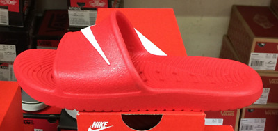 2507e717f NIKE Kawa Shower Men s Slide Sandals Red White 832528 600 Fast Free Shipping  O