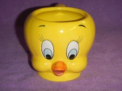 1989 Tweety Bird Rare 3D Looney Tunes Coffee Mug by Applause